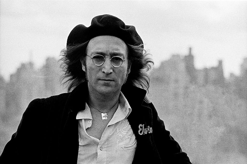 Lennon On Rooftop
