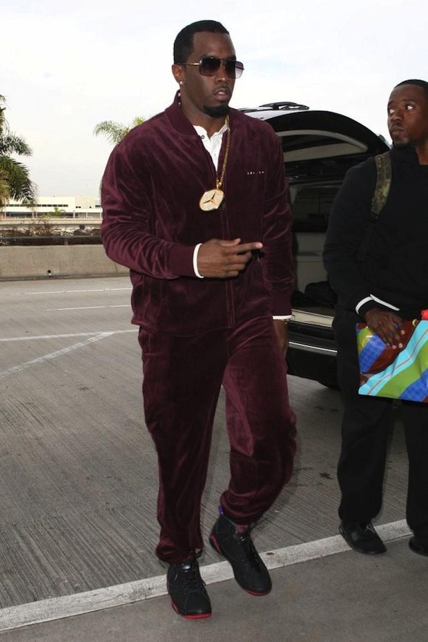 P Diddy (46) в споритвном костюме Adidas, $170 (10710 р.)
