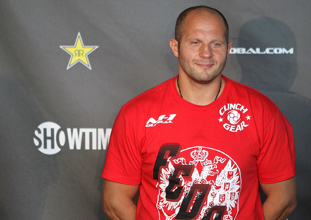 Strikeforce: Fedor v Henderson - Weigh In