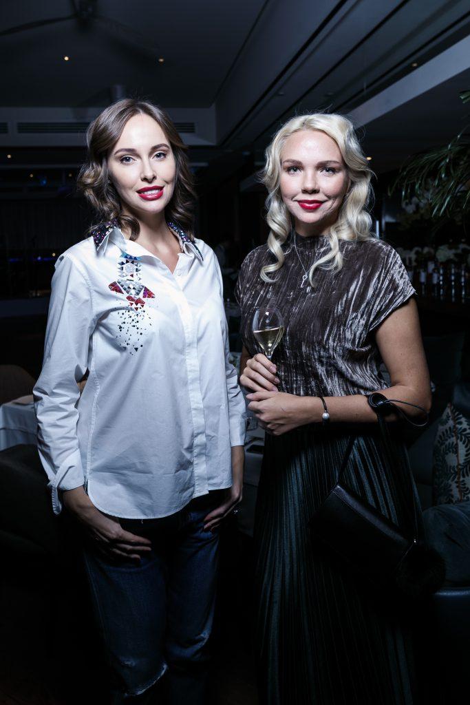 Ирина Зарькова и Анастасия Булгакова