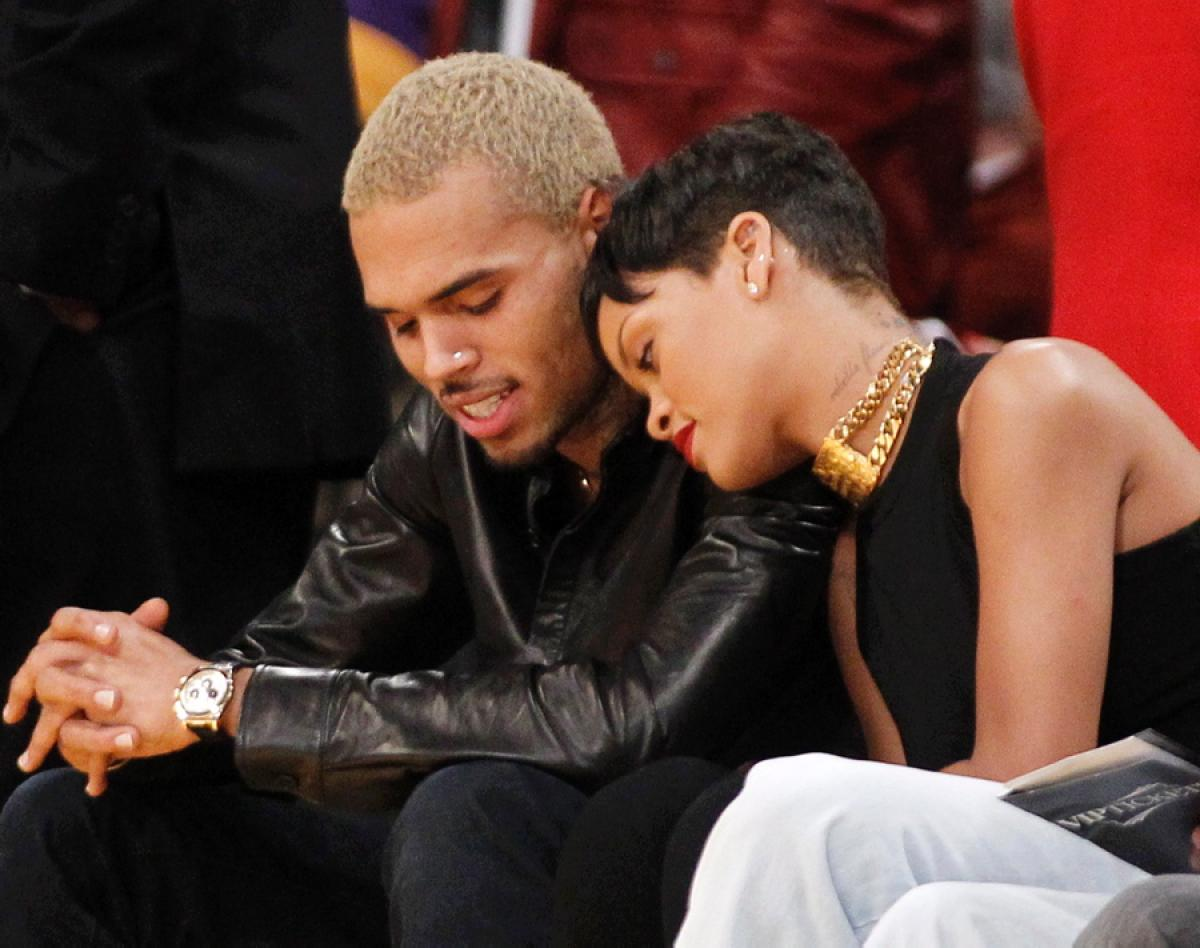 chris brown and rihanna - HD 1100×775