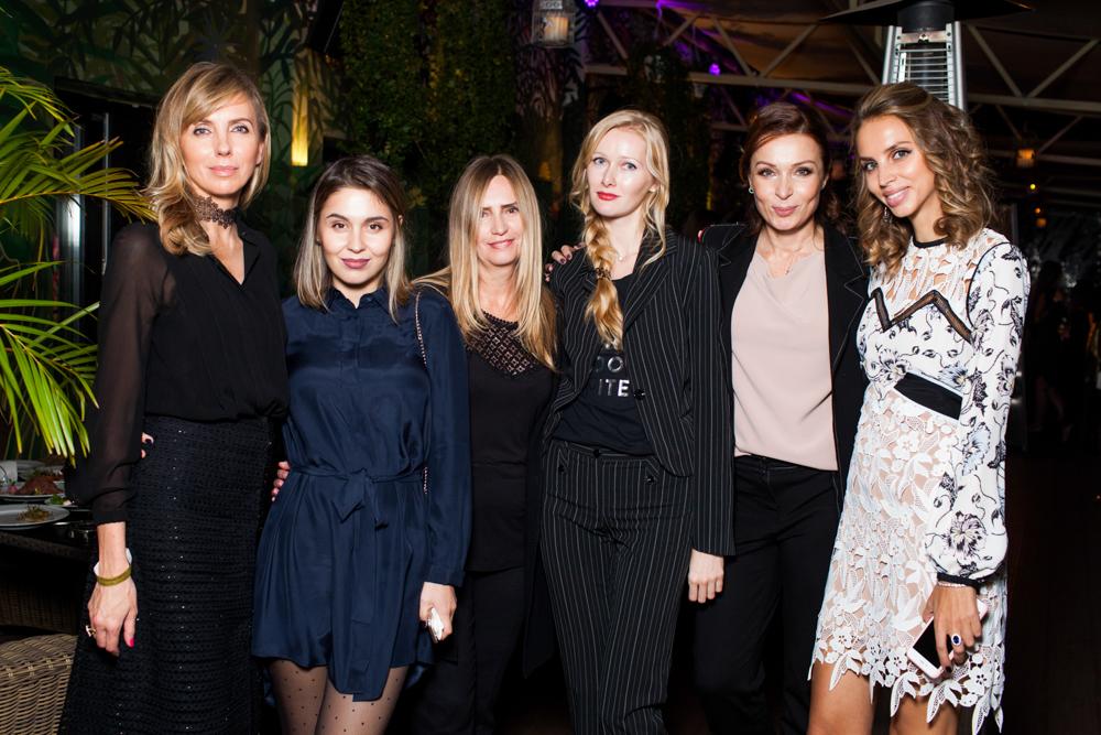 Светлана Бондарчук, Алина Белова, Татьяна Мелешникова, Олеся Волкова, Евгения Попова и Лидия Леонюк