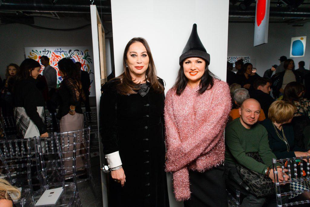 Алла Вербер и Анна Нетребко