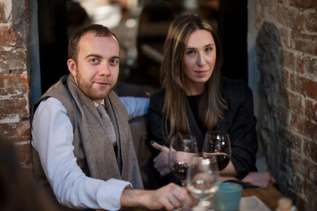 Павел Камин и Анна Зайцева