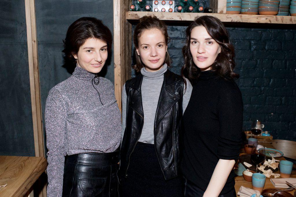 Ольга Карпова, Мария Лимонова и Мари Коберидзе