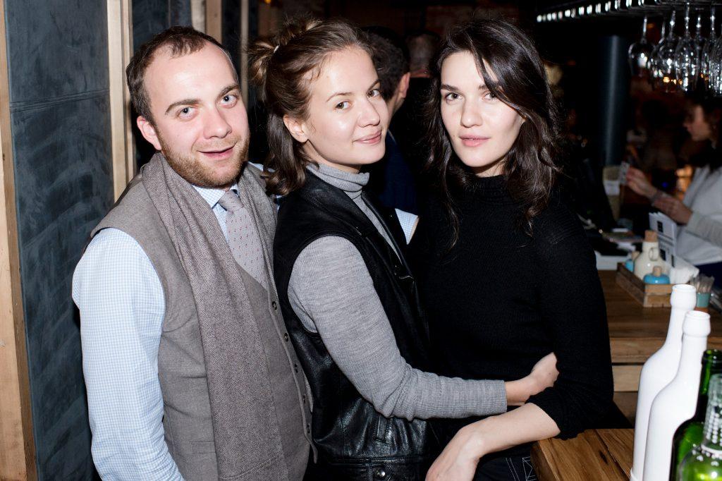 Павел Камин, Мария Лимонова и Мари Коберидзе