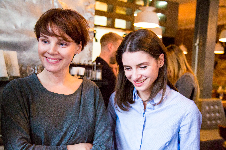 Анастасия Никонова @pullya и Ольга Семенова