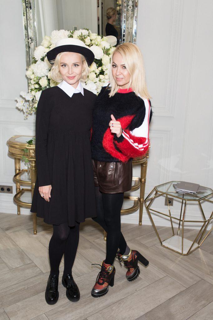 Полина Гагарина и Ксения Собчак