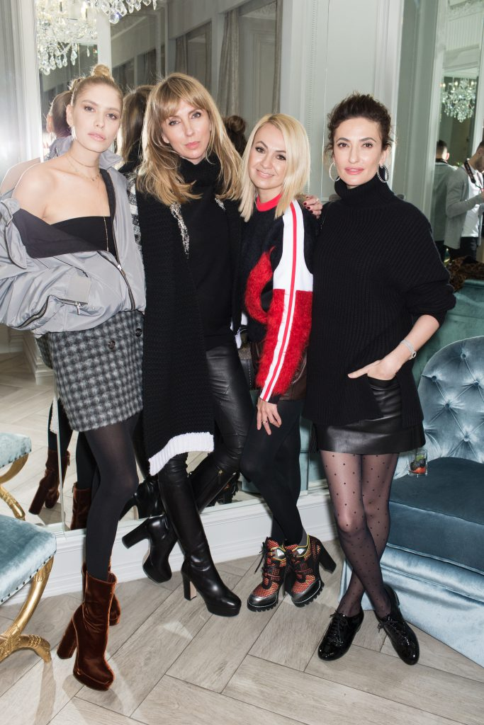 Елена Перминова, Светлана Бондарчук, Яна Рудковская и Снежана Георгиева