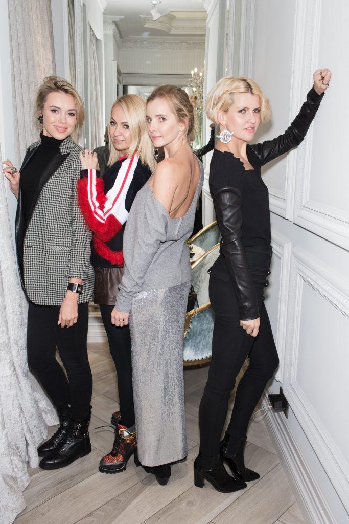 Ксения Сухинова, Яна Рудковская, Наталья Якимчик и Полина Киценко