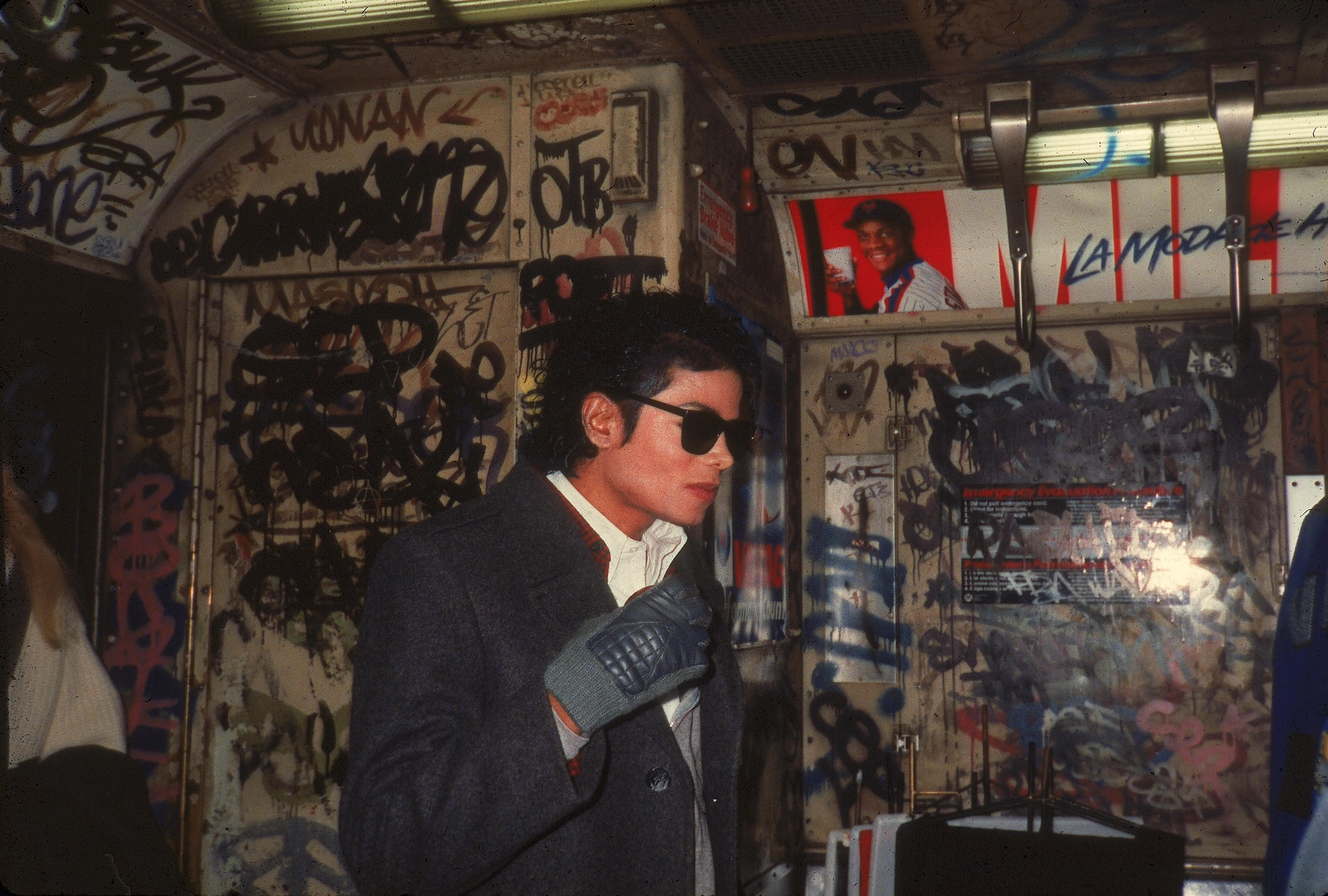 Michael Jackson In 'Bad'