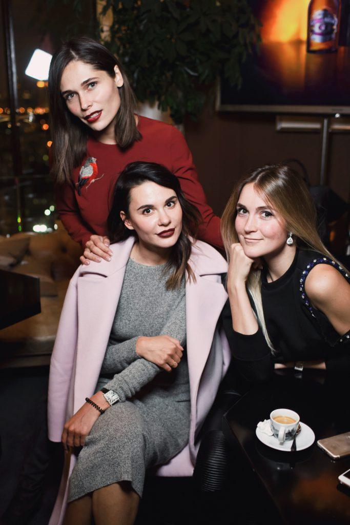 Полина Аскери, Надежда Миссбах и Алина Топалова
