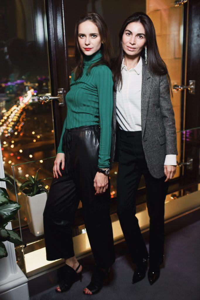 Ксения Князева и Оксана Пономарева