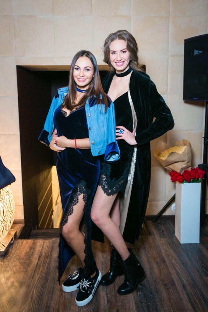 Инна Жиркова и Александра Серова