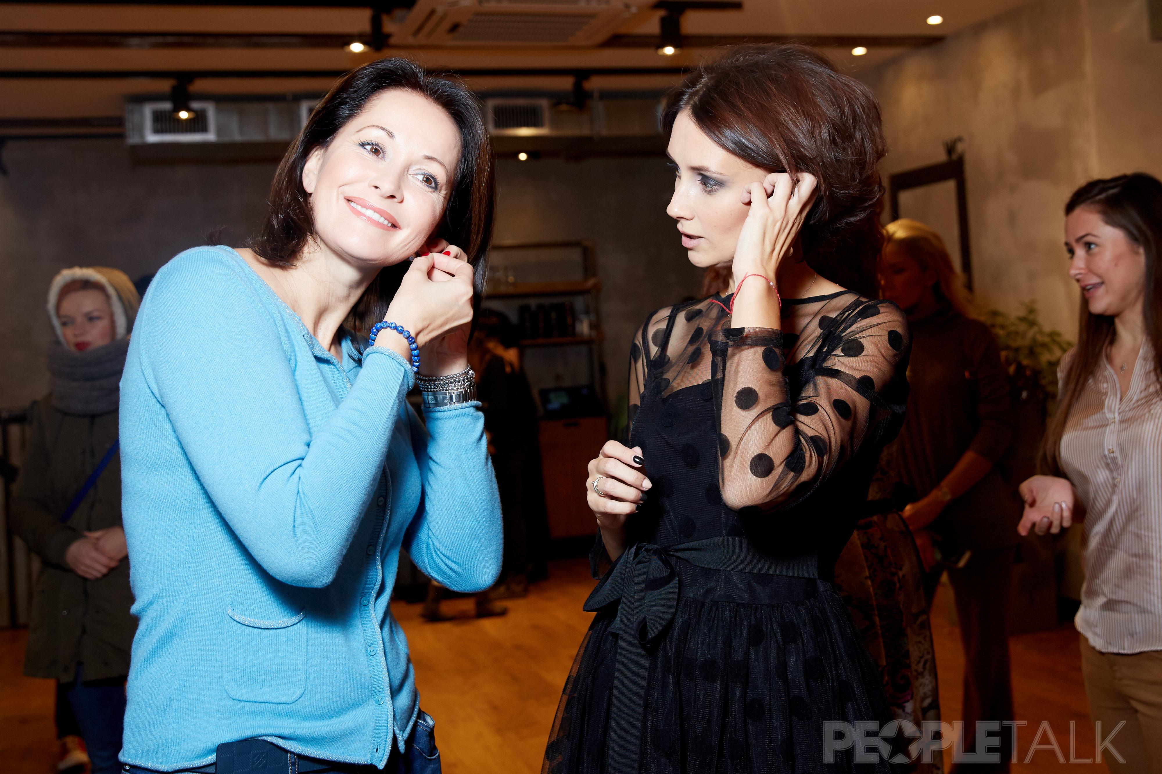 Ольга Кабо и Анастасия Цветаева