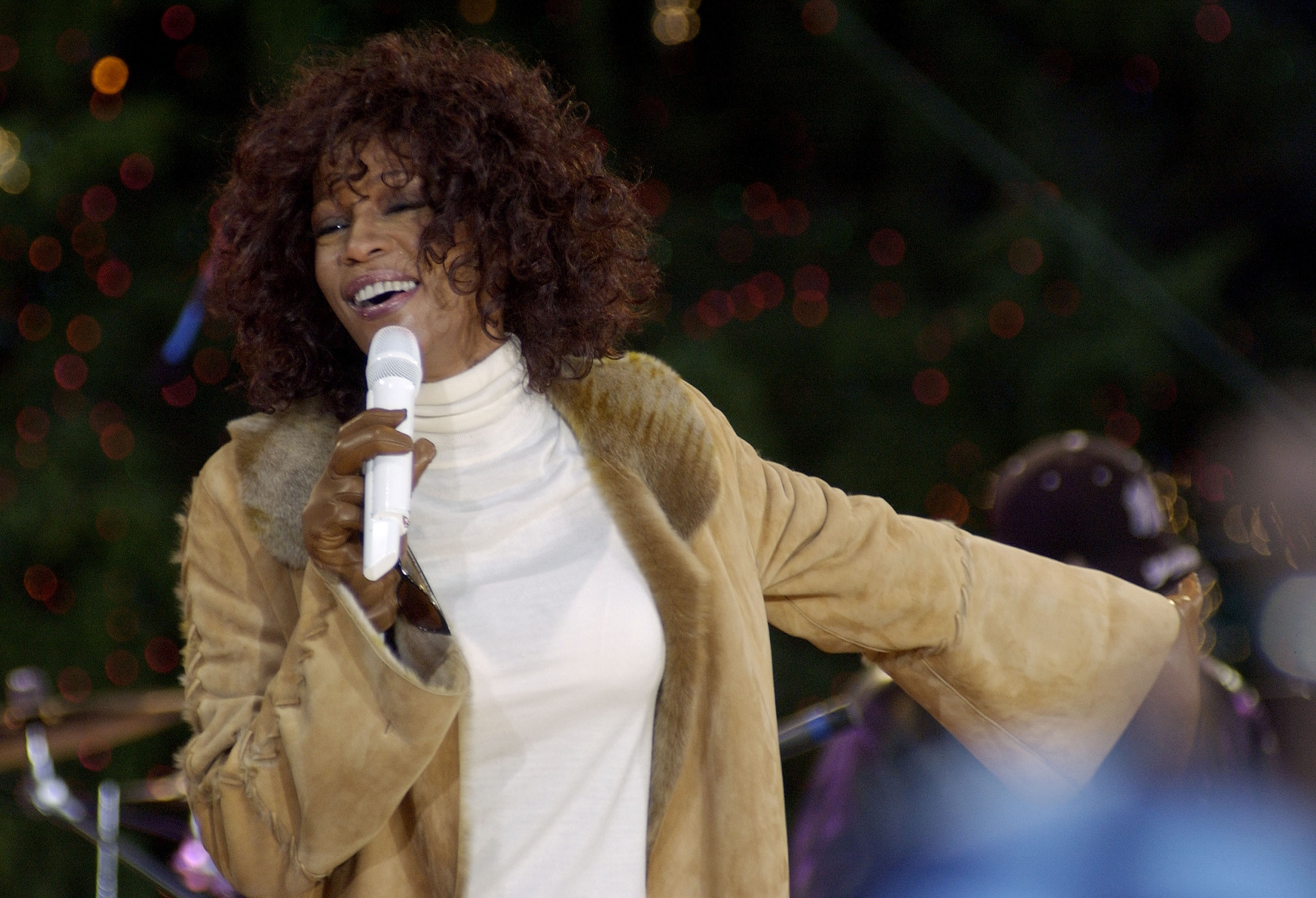 Whitney Houston Performs At Lincoln Center