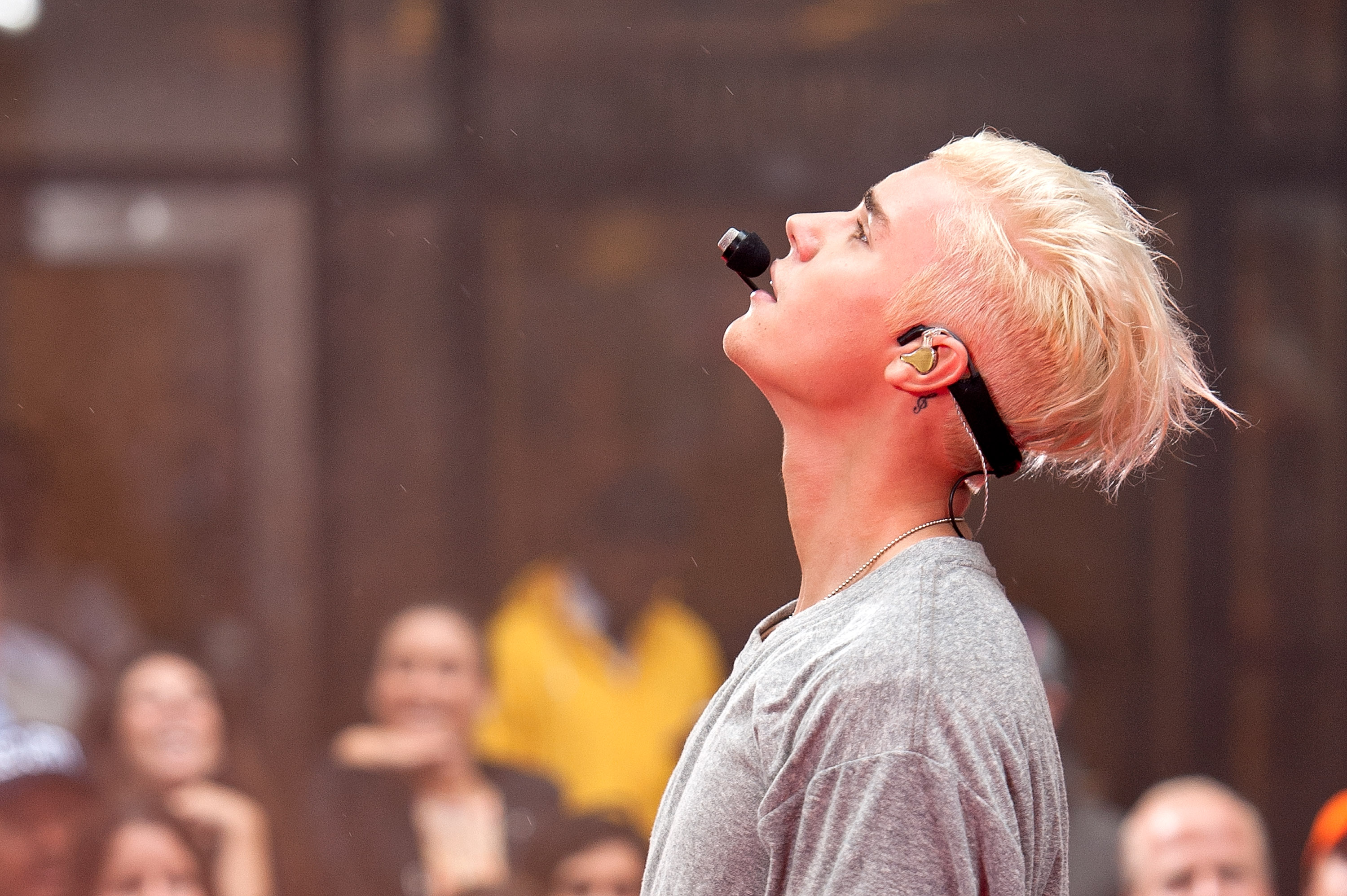 """Justin Bieber Performs On NBC's """"Today"""""""