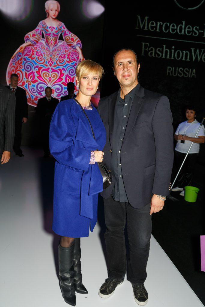Олеся Судзиловская и Тони Уорд