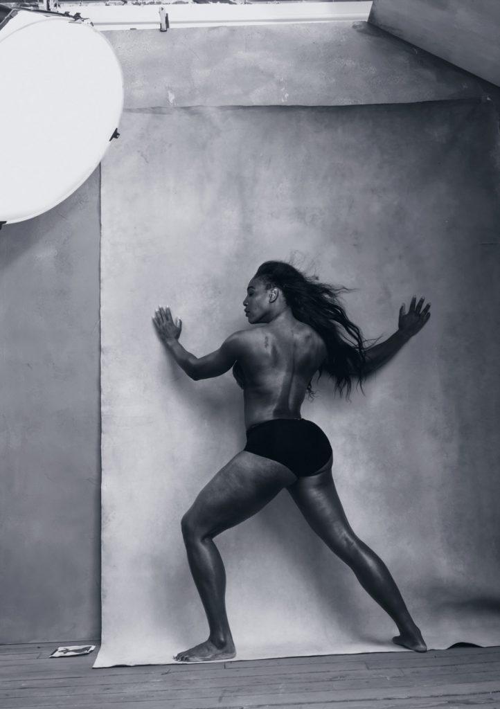 Апрель - Серена Уильямс - американская профессиональная теннисистка