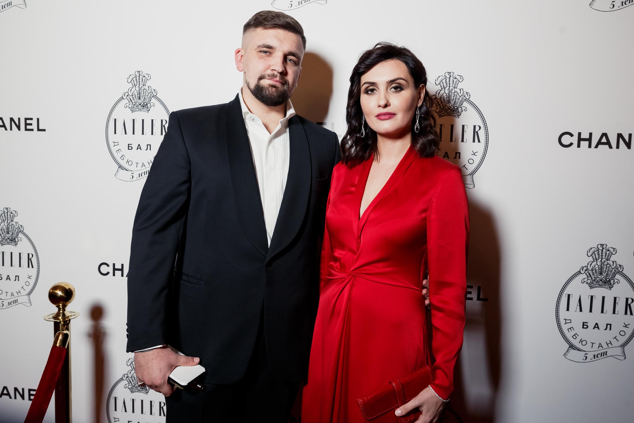 Василий Вакуленко с женой Еленой Пинской