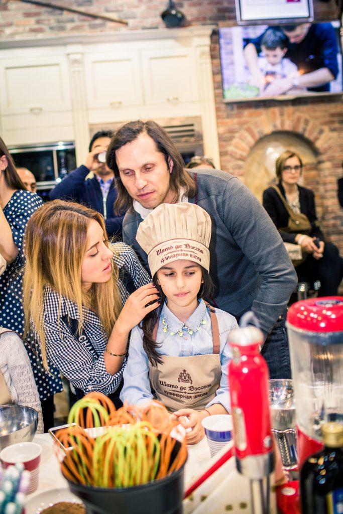 Анжелика и Александр Ревва с дочерью