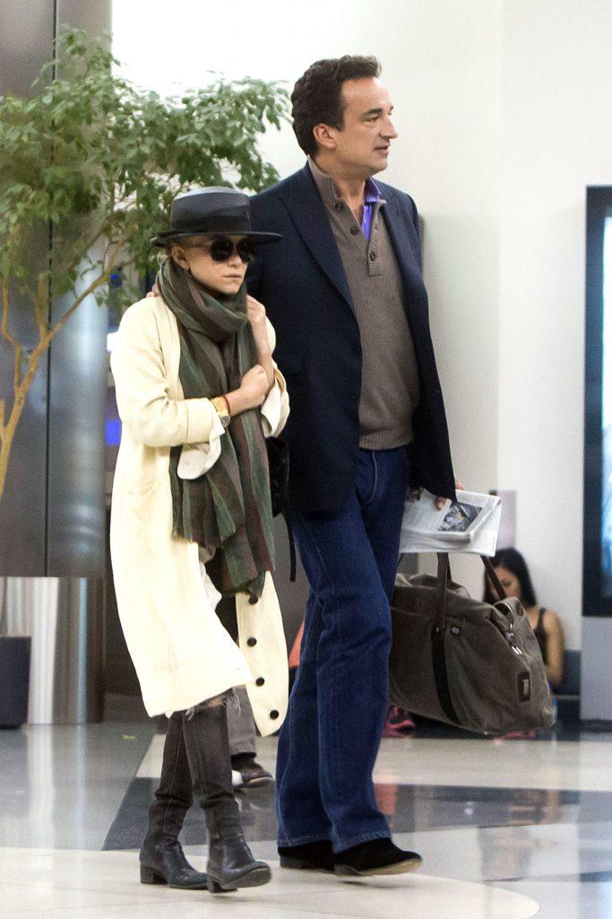 Актриса, дизайнер Мэри-Кейт Олсен (29) и Оливье Саркози