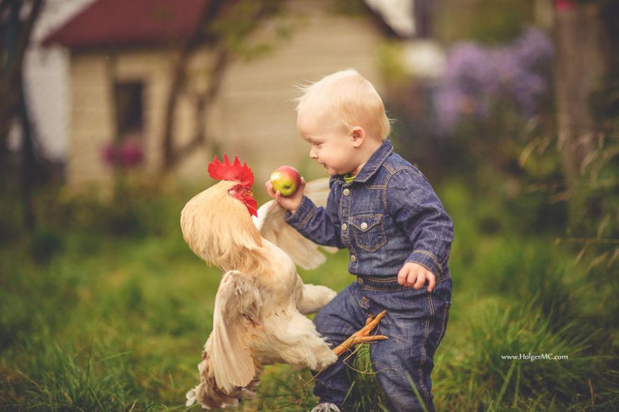 картинки животных с маленькими детьми каратисты