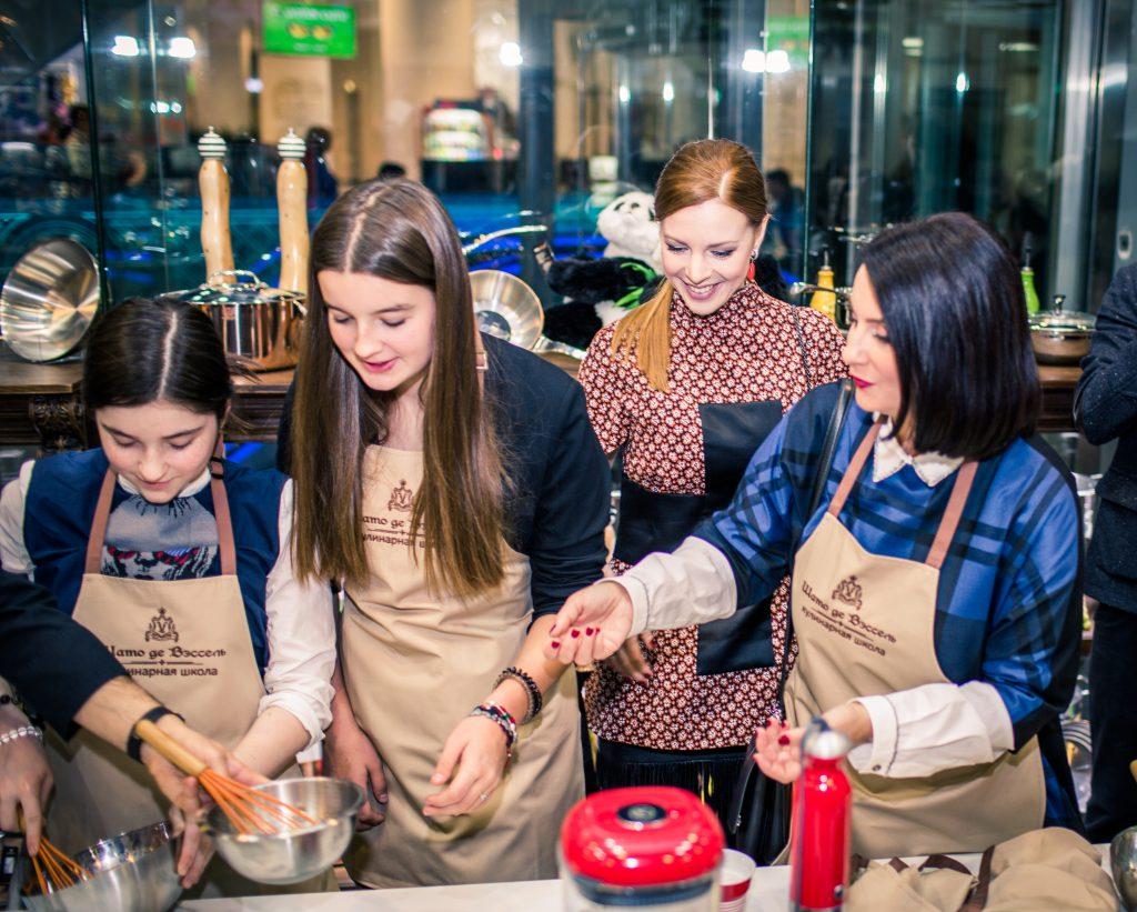 Александра Стриженова, Наталья Подольская и Екатерина Стриженова