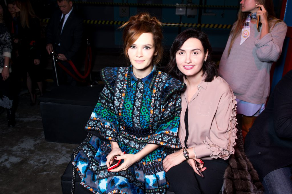 Дарья Чаруша и Елена Пинская-Вакуленко