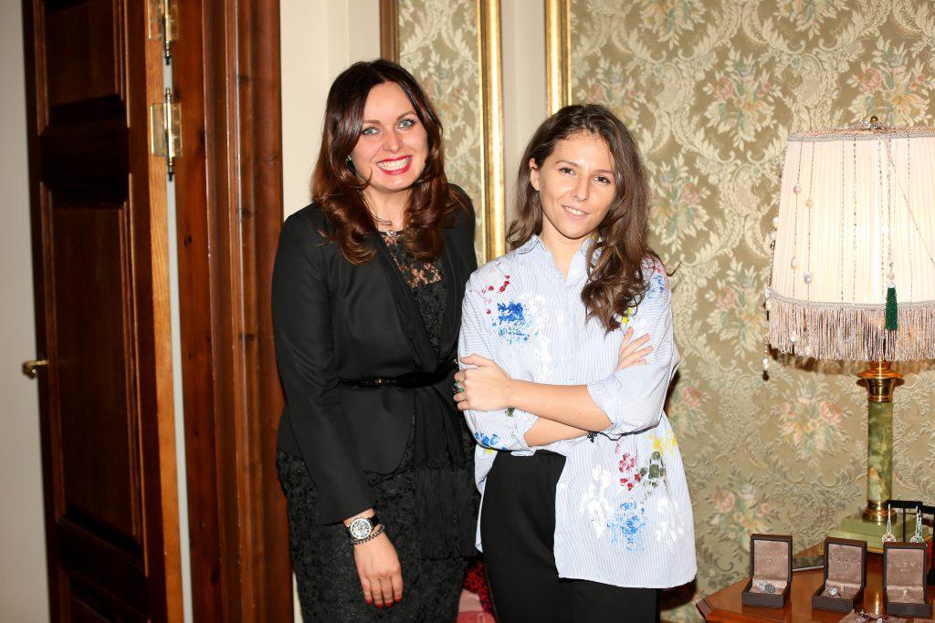 Светлана Амова и Мария Далакян