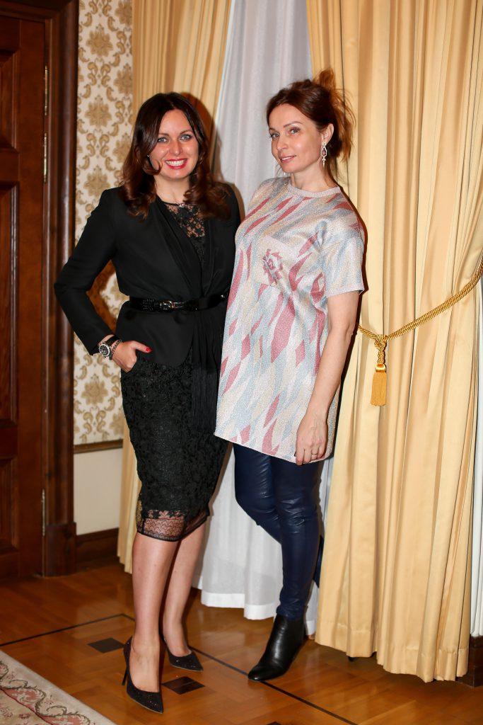 Светлана Амова и Евгения Попова
