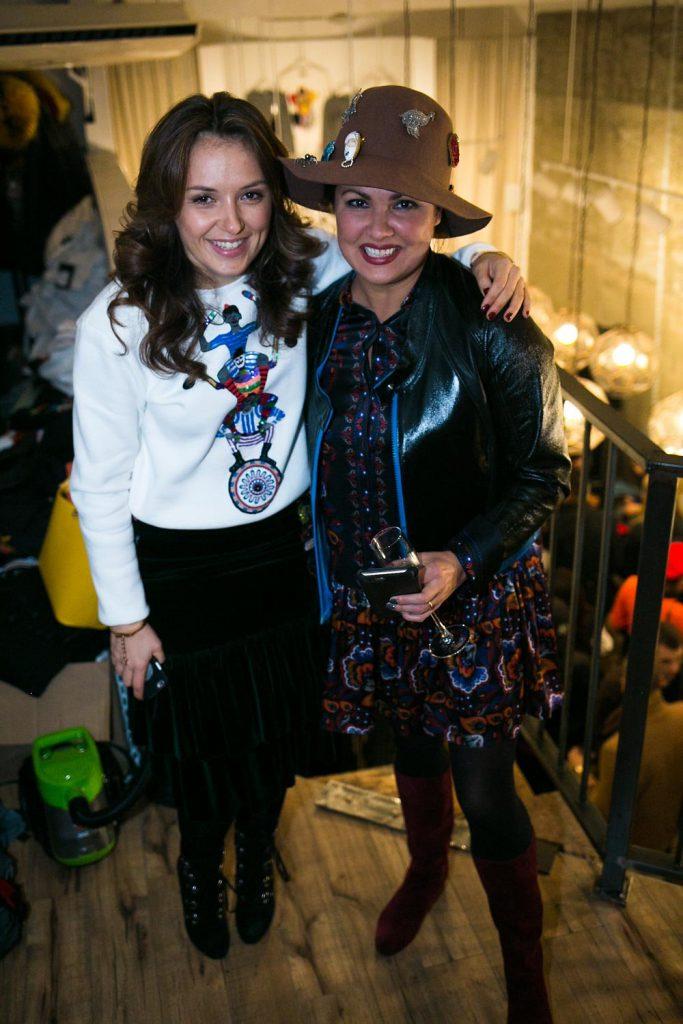 Катя Добрякова и Анна Нетребко