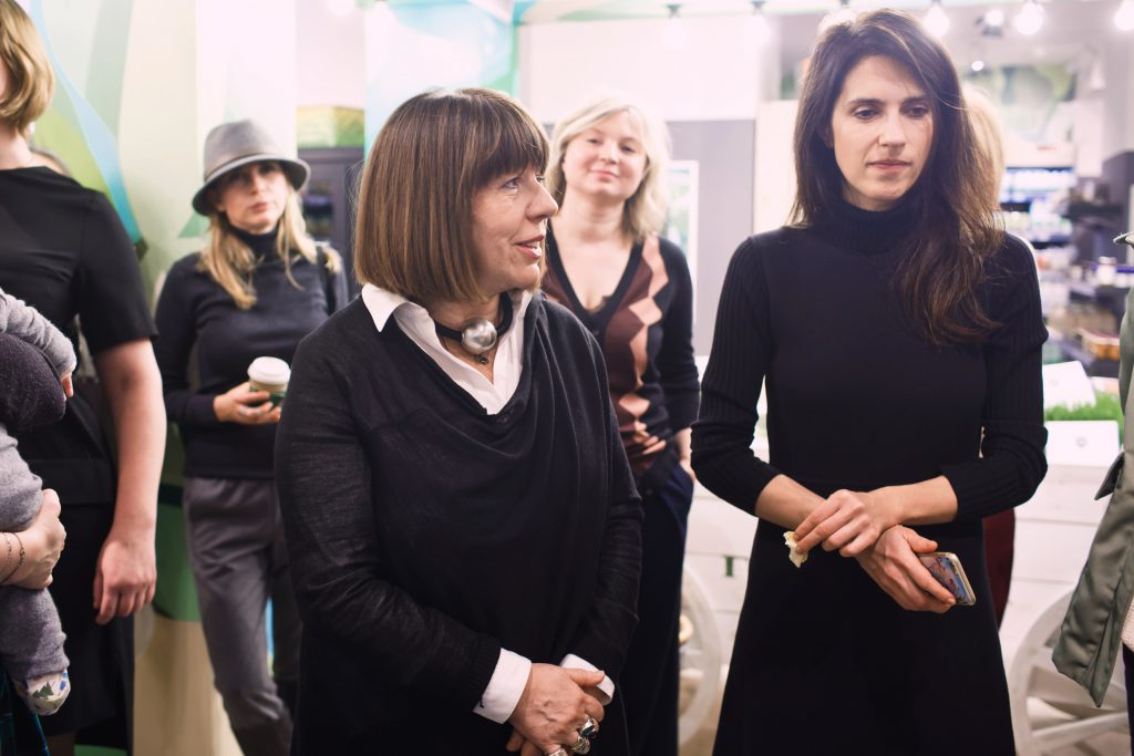 Нонна Бреннер и Ксения Соловьева