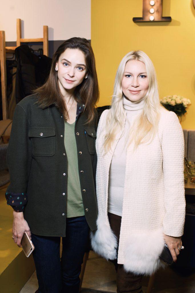 Ксения Князева и Екатерина Одинцова