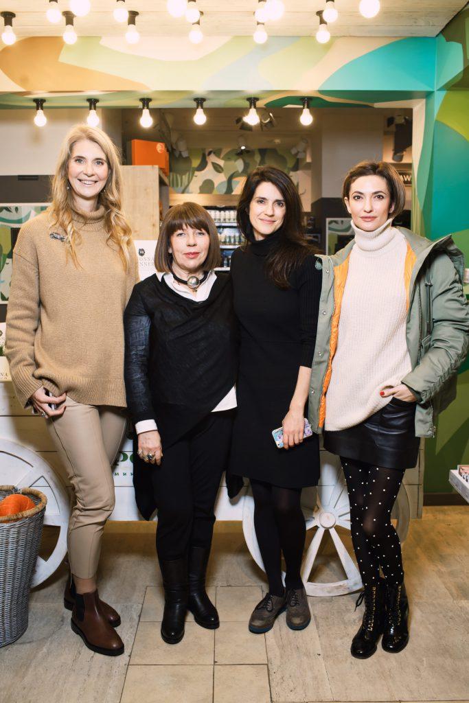 Дарья Лисиченко, Нонна Бреннер, Ксения Соловьева и Снежана Георгиева