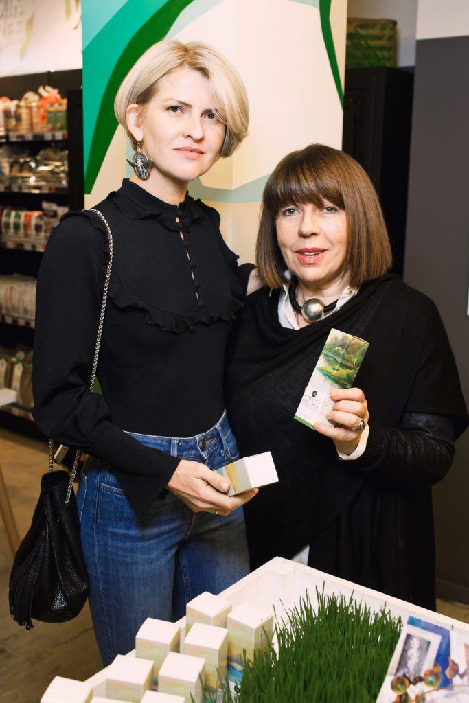 Полина Киценко и Нонна Бреннер