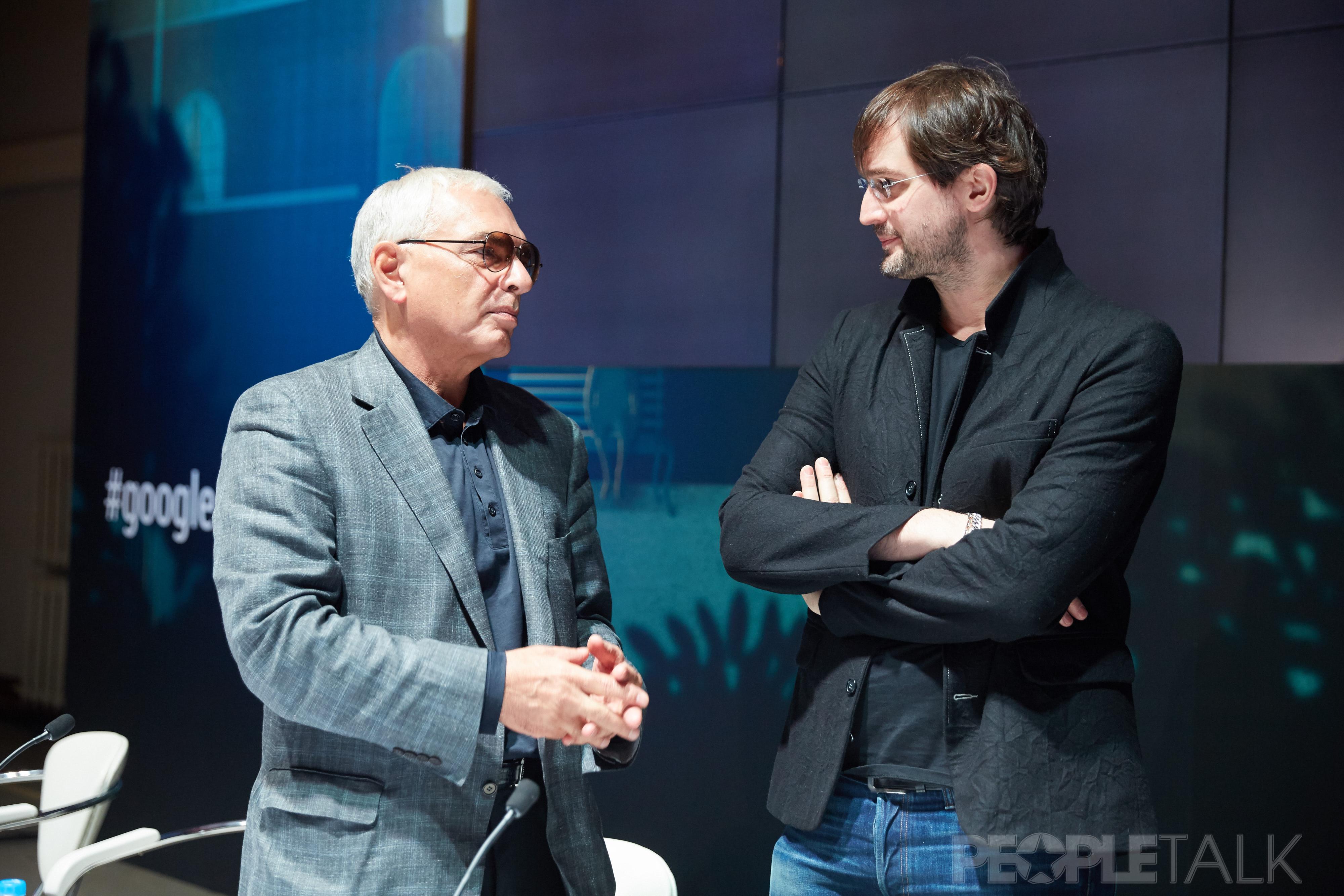 Карен Шахназаров и Андрей Болтенко
