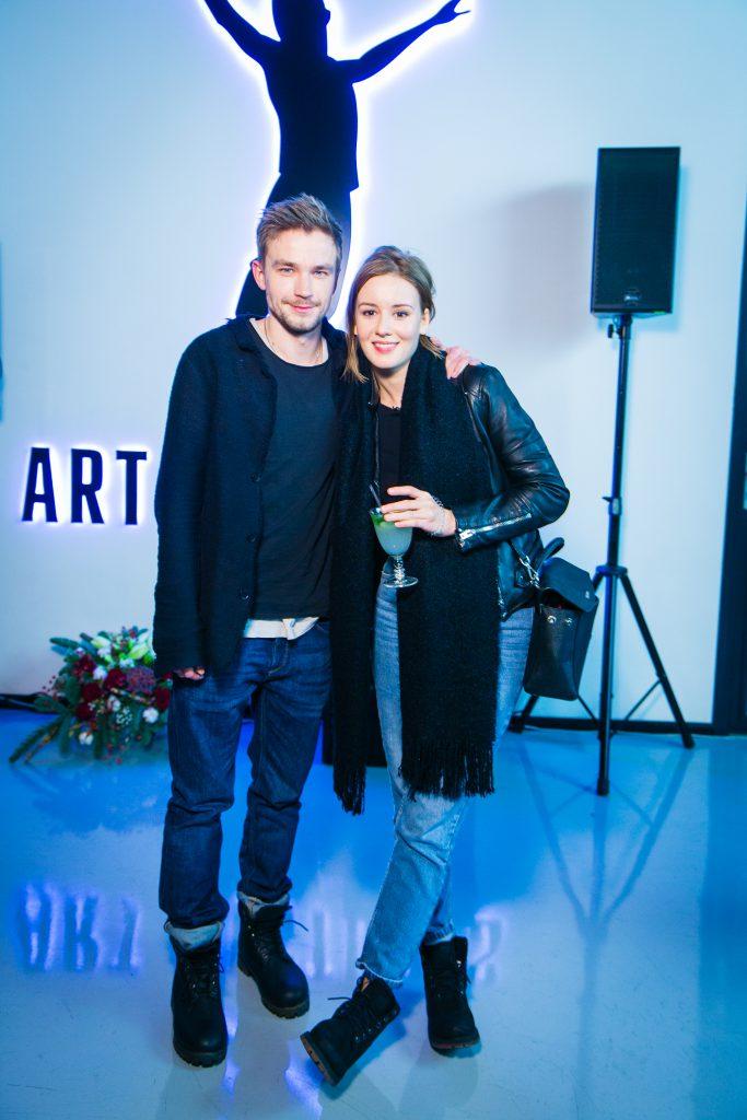 Александр Петров и Ирина Старшенбаум