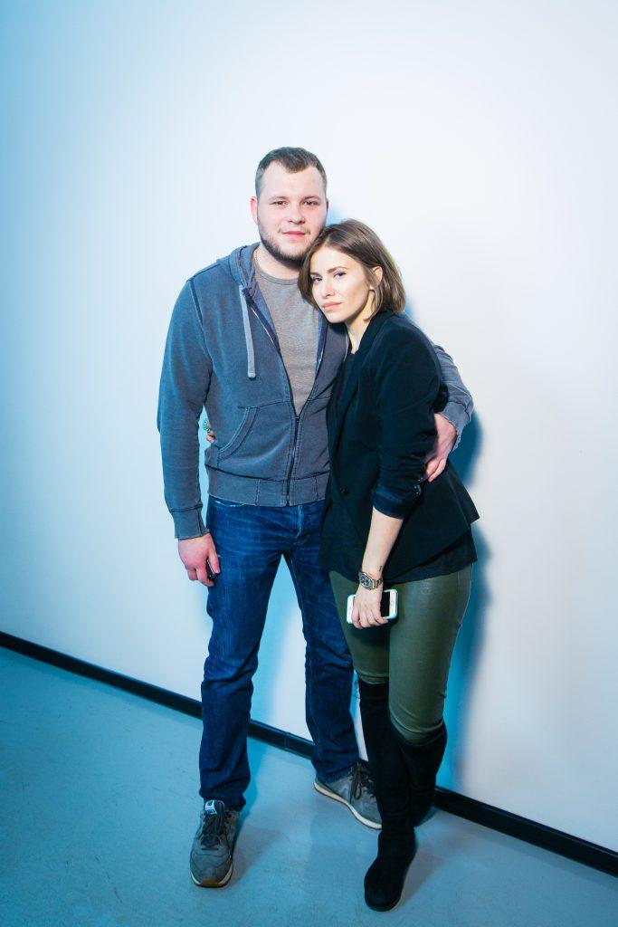 Сергей Бондарчук и Тата Бондарчук-Мамиашвили