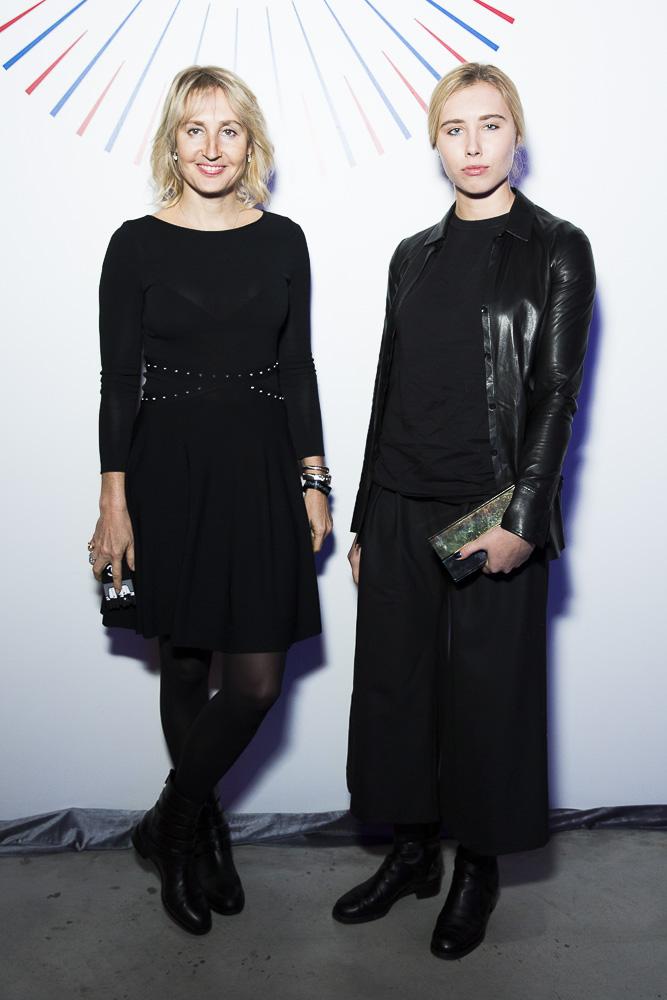Оксана Бондаренко и Алина Цыганова
