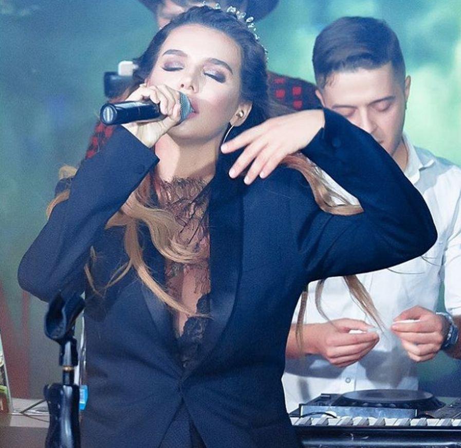 Анна Седокова выступала  в Астане