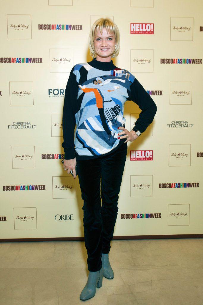 Светлана Хоркина на показе BOSCO Fresh