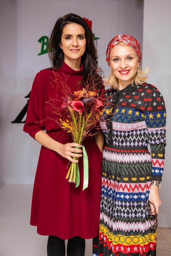Ксения Соловьева и Екатерина Моисеева  на Vesna Fashion Battle