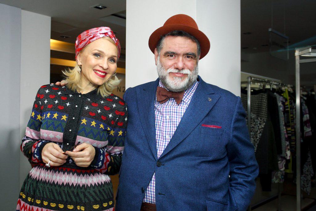 Екатерина Моисеева и Михаил Куснирович на Vesna Fashion Battle