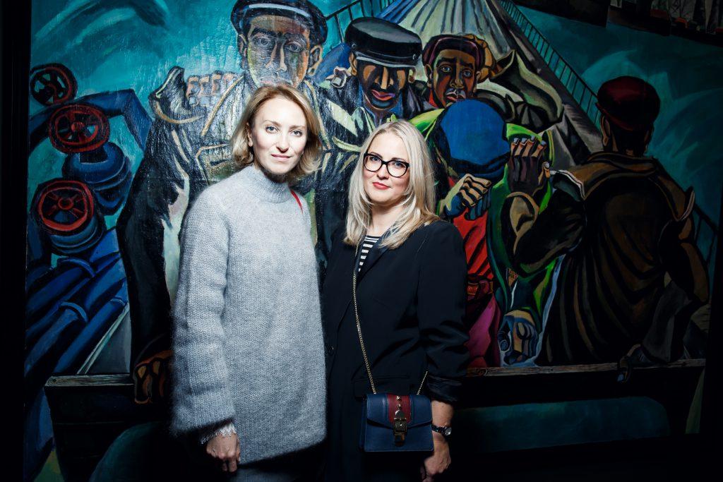 Ирина Елизарова и Юлия Капитонова