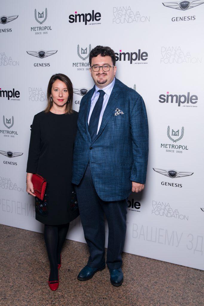 Александр Будберг и Наталья Тимакова