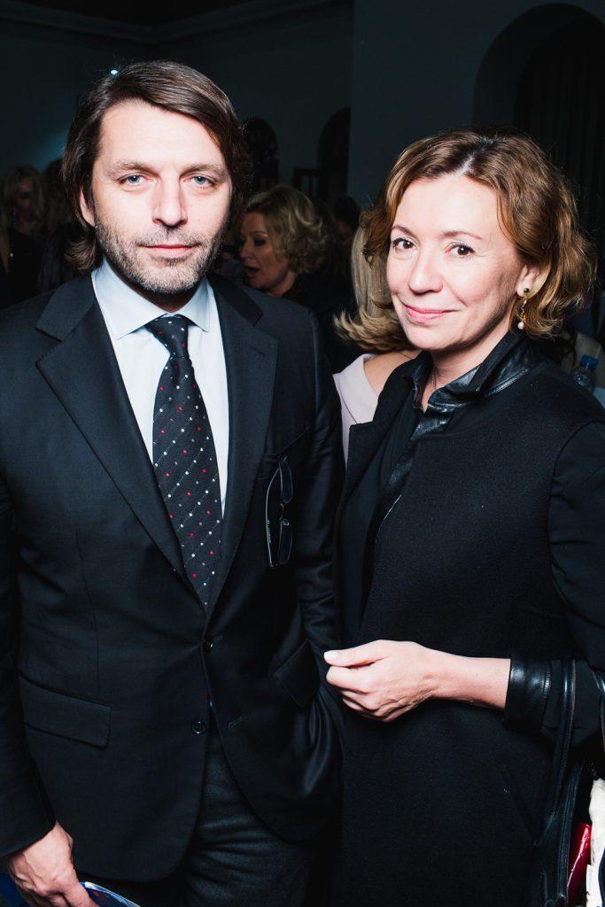 Николай Усков и Валерия Роднянская