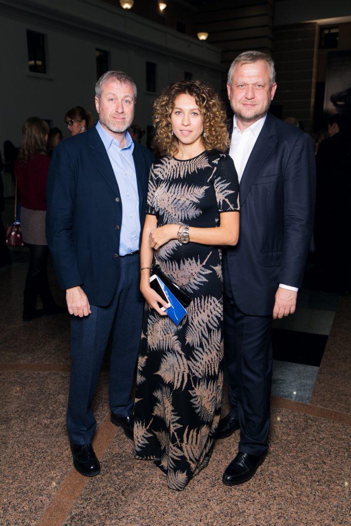 Роман Абрамович, Софья и Сергей Капковы