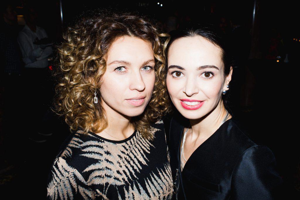 Софья Капкова и Диана Вишнева