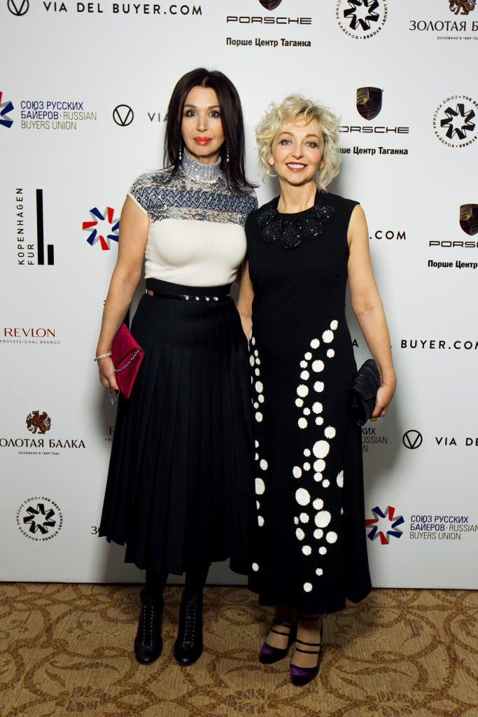 Ирина Лопырева и Елена Бугранова
